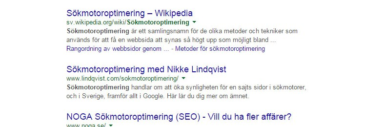 Mycket testande hos Google